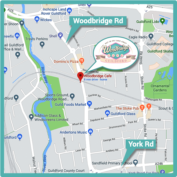 Woodbridge Cafe Location